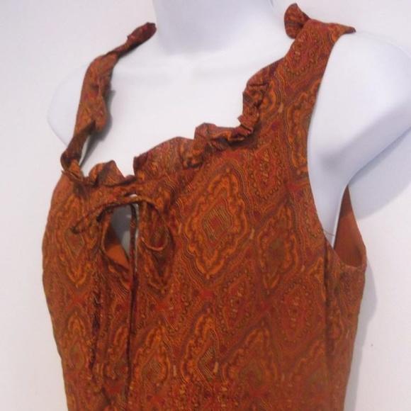 Les ailes de la mode Dresses & Skirts - Orange Printed Dress Size 2